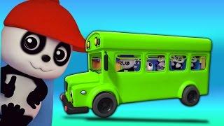 Bánh xe trên xe buýt | bài hát cho trẻ em |  Music For Kids | Baby Song | Wheels on the Bus