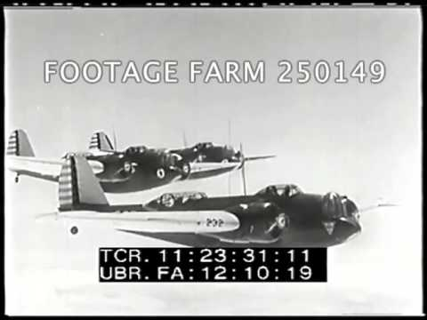 1937 - 1938 New Advances By The U.S. Army Air Corps 250149-12 | Footage Farm