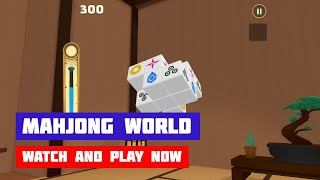 Mahjong World · Game · Gameplay
