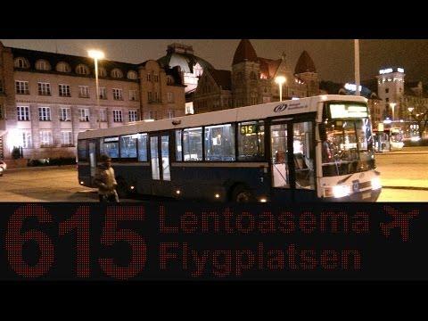 615 From Helsinki City to Helsinki Vantaa Airport