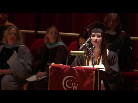 Student Speaker: Alejandra Roj...