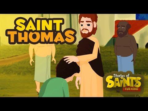 Story of Saint Thomas  English  Stories of Saints For Kids