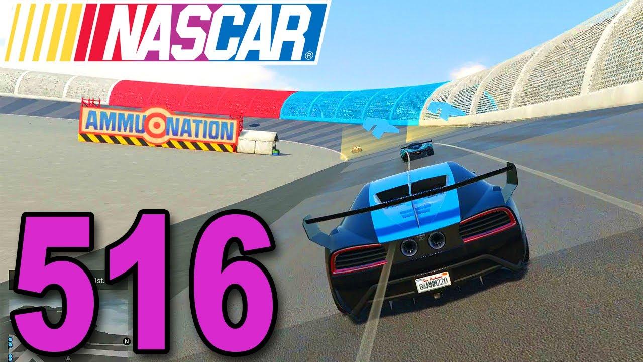 Grand Theft Auto 5 Multiplayer - Part 516 - RACING NASCAR ON GTA ...