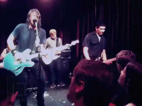 Foo Fighters at Velvet Jones Santa Barbara, CA 1.28.11