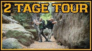 Zwei Tage Tour mit Overnighter/Übernachtung - Outdoor Bushcraft Glamping