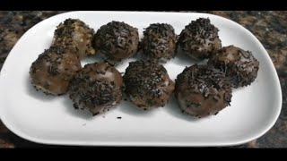 Chocolaty Balls | Chocolate Dipped Balls
