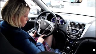 Хендай Солярис 2015 Hyundai Solaris 2015 6АКПП тест и отзывы автолюбителей смотреть