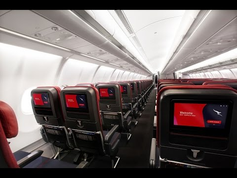 [Flight Review] Qantas NEW ECONOMY CLASS on Airbus A330-300 | Melbourne to Hong Kong