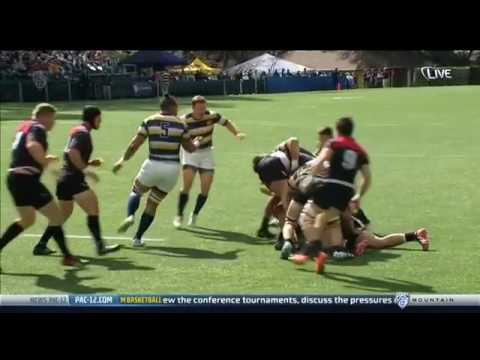 USA University Rugby 2015  University California vs Utah