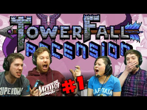 TOWERFALL ASCENSION with Hat Films & Kim! (#1) Sephiroth!