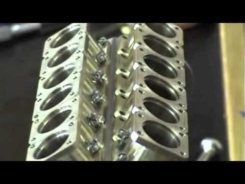 World's Smallest functioning V12 Diesel Engine