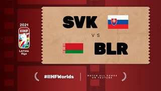 Highlights: BELARUS vs SLOVAKIA | 2021 #IIHFWorlds