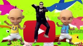 Video Baby Shark Parody Upin Ipin feat PSY Terbaru download MP3, 3GP, MP4, WEBM, AVI, FLV Desember 2017