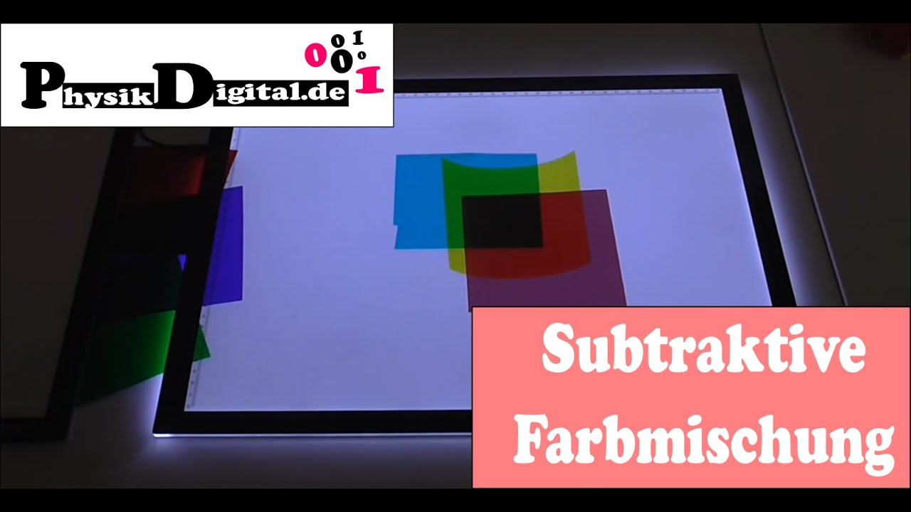 Subtraktive Farbmischung (physikdigital.de) - YouTube