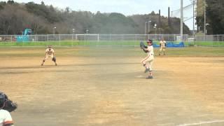 vs高野台ジャガーズ・プレミアリーグ 2対2 引き分け 7回裏に追いついて...