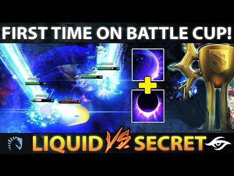 SECRET vs LIQUID - FIRST TIME IN DOTA 2 HISTORY - BATTLE CUP EPIC GAME Dota 2 thumbnail