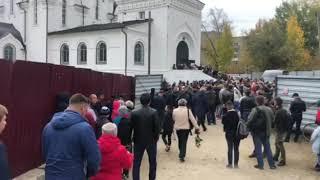 Саратов прощается с убитой Лизой Киселевой