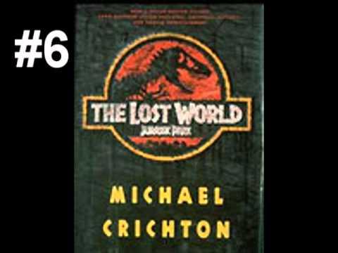 Michael Crichton - 10 Best Books