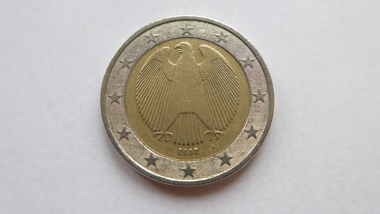 2 Euro Coin Germany 2002 A Berlin Youtube
