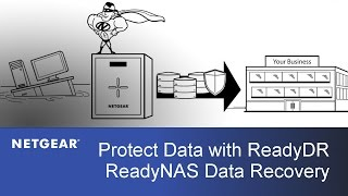 Protect Your Data with ReadyDR | NETGEAR ReadyNAS Data Recovery
