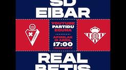 SD Eibar 5 - 0 Real Betis (T17/18) - partido completo -
