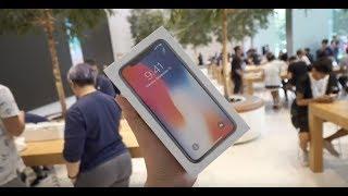 Gambar cover Unboxing iPhone X Langsung di Apple Store Singapura
