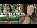 Get Ready With Me For University ft. Daniel Wellington | Savira Millenita