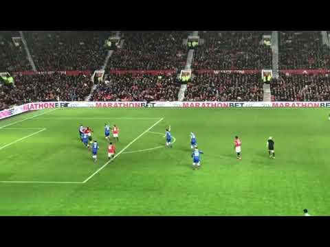 Lukaku GOAL vs Stoke | Man Utd vs Stoke City 3-0 | View From The Stands