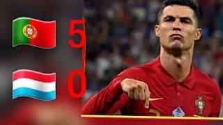 Португалия 5 0 Люксембург обзор отборочного матча чемпионата мира 2022