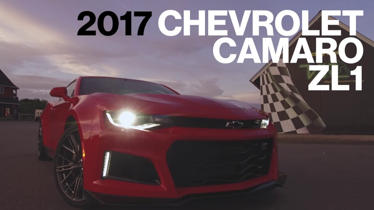 Chevrolet Camaro Zl1 Hot Lap At Vir Lightning Lap 2017 Car And Driver