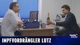 Kann Lutz van der Horst sich eine Impfung erschleichen?