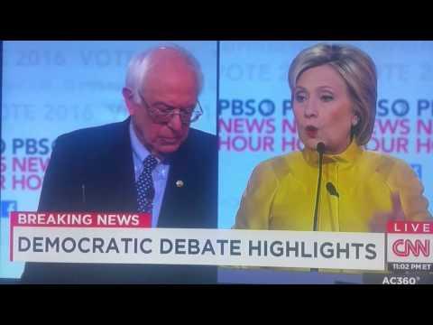 Bernie Sanders OWNS Hillary Clinton in Debate.
