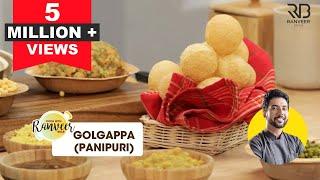 Pani Puri Recipe | पानी पूरी / गोलगप्पा | Please follow recipe in DESCRIPTION | Chef Ranveer Brar