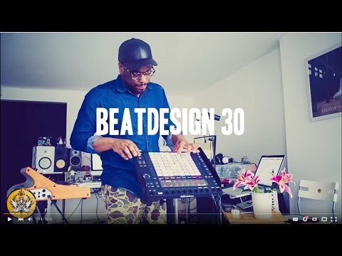 BEATDESIGN Thomas Piper Performance and Quick Review of Ableton Push 2 (Playing my Moog sub37 LOL)
