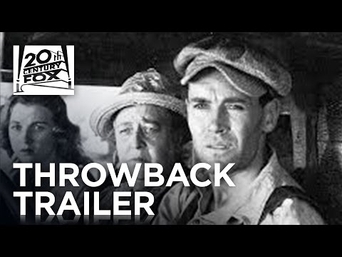 The Grapes of Wrath | #TBT Trailer | 20th Century FOX from YouTube · Duration:  2 minutes 34 seconds