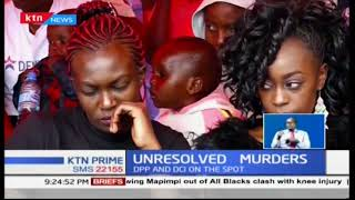 Mounting pressure on DPP Noordin Haji to offer real answers on the many unresolved murders