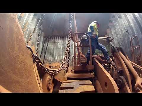 Unloading Bulk Carriers at Port Kembla.