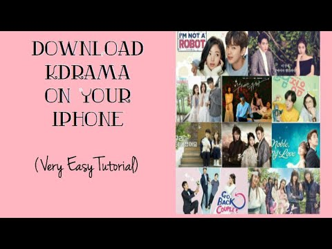 How To Download KDRAMAs On IPHONE/IOS | Very Easy Tutorial