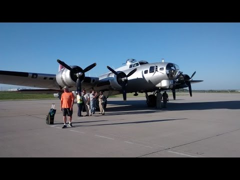 Aluminum Overcast Boeing B-17 Flying Fortress MSN-ATW