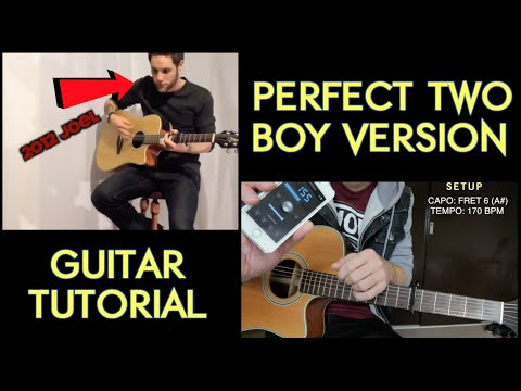 Guitar Tutorial - Perfect Two (Boy Version)