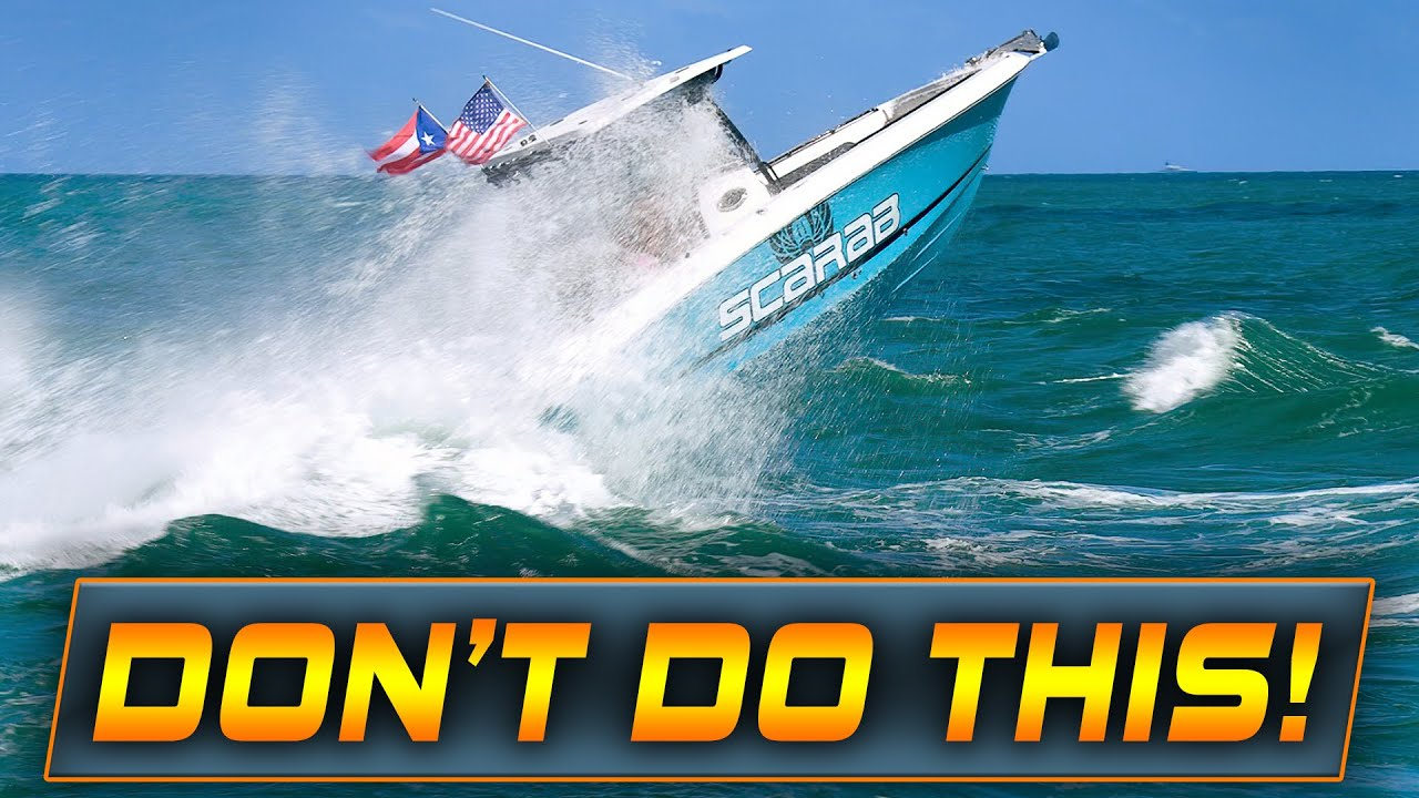 FLORIDA MAN SENDS IT AND PASSENGERS PAY THE CONSEQUENCES!   HAULOVER INLET   WAVY BOATS