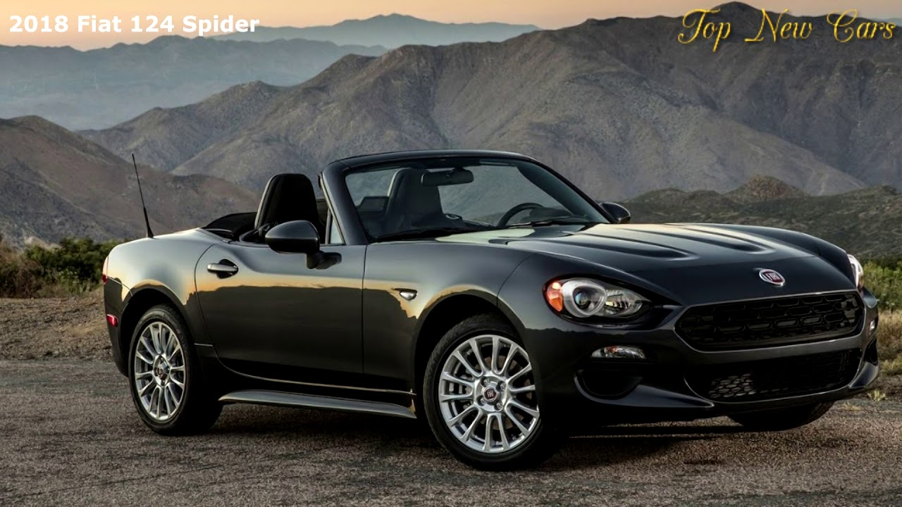 2018 fiat 124 spider receives new colors and trims - youtube