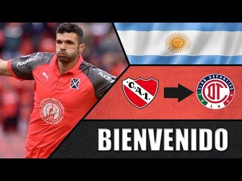 Emmanuel Gigliotti ● Bienvenido ● Deportivo Toluca