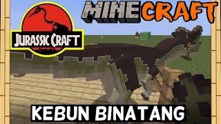 Minecraft - Yuk Buat Kebun Binatang DINOSAURUS!!!