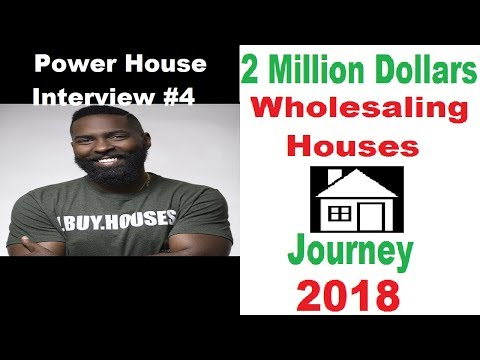 Power House Real Estate Investor Interview #4:Max Maxwell - 2M Dollars Wholesaling Journey 2018