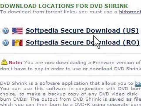 How To Download Free Dvd Shrink