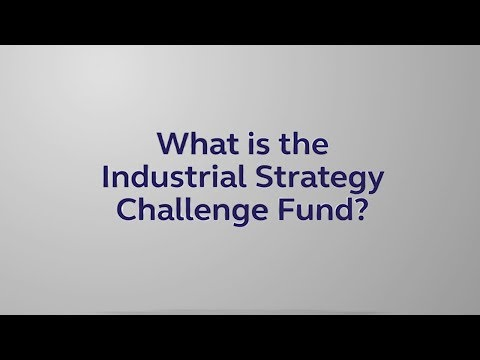 The Industrial Strategy Challenge Fund