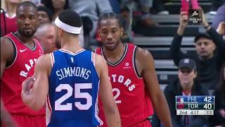 Kawhi Leonard BEST Defensive Highlights from 2018-19 NBA Season! (PART 1)
