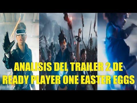 Analisis del Trailer 2 de Ready Player One, Explicacion de la Trama y los Easter Eggs