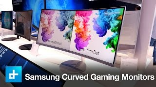 Samsung 34-Inch Gaming Monitor - Hands On - IFA 2016